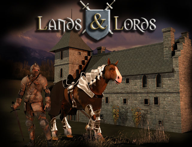 Lands & Lords - the Strategy MMOG (Browsergame) - Splashscreen